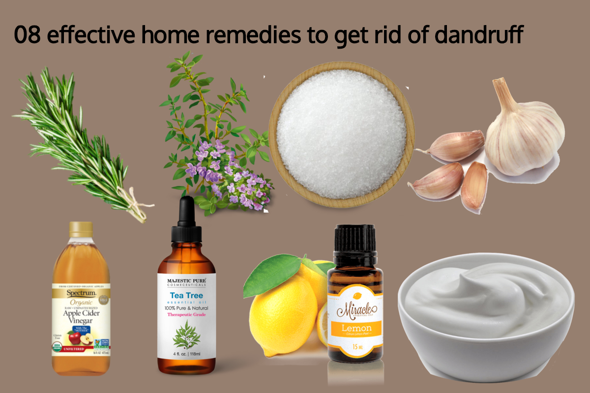 08 effective home remedies to get rid of dandruff