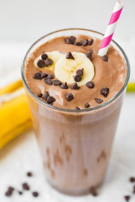 cocoa and peanut buttersmoothie
